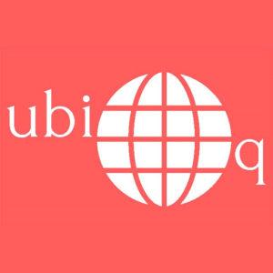 ユビキタストレーディング ロゴ