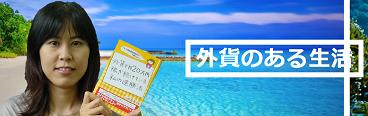 山根亜希子公式サイト 外貨のある生活